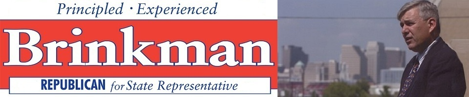 Tom Brinkman for State Representative -
