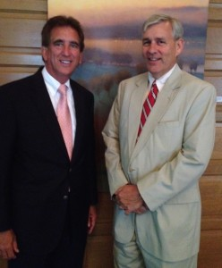 Congressman Jim Renacci and Tom Brinkman