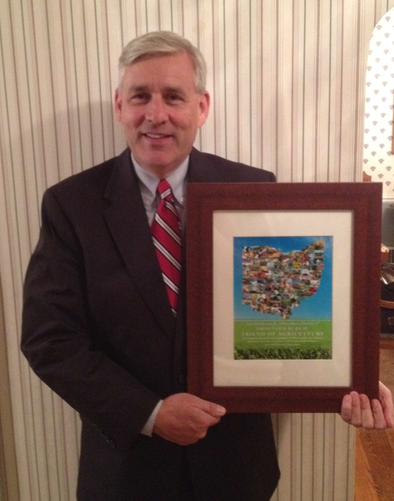 Tom Brinkman, Friend of Agriculture
